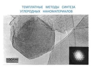 После детального описания темплатного метода синтеза мезопористого молекулярн