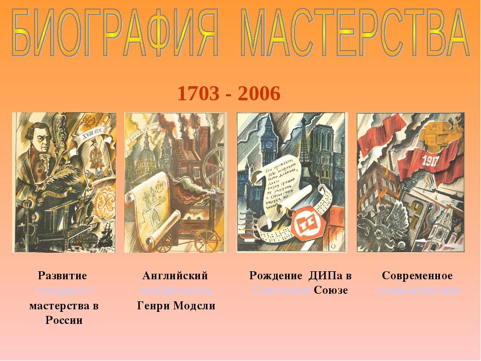 Развитие токарного мастерства в России Английский изобретатель Генри Модсли Р...