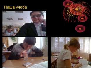 Наша учеба
