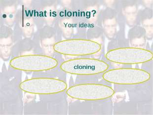 What is cloning? Your ideas cloning