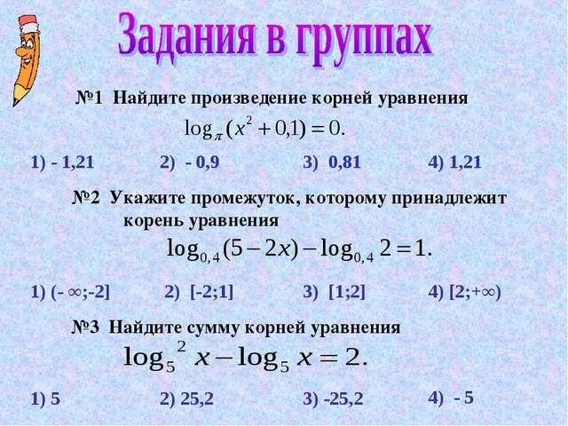 1) - 1,21 1) 5 1) (- ∞;-2] 2) - 0,9 3) 0,81 4) 1,21 3) [1;2] 2) [-2;1] 4) [2;...