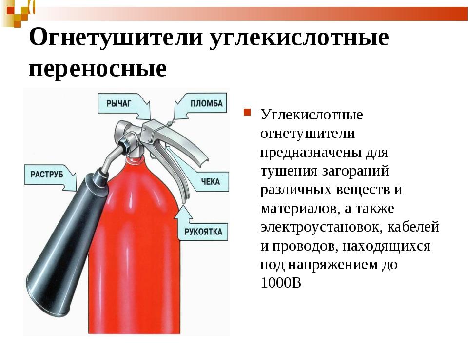 ( Огнетушители углекислотные переносные ОУ- Огнетушители углекислотные 2, ОУ...