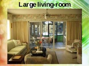 Large living-room