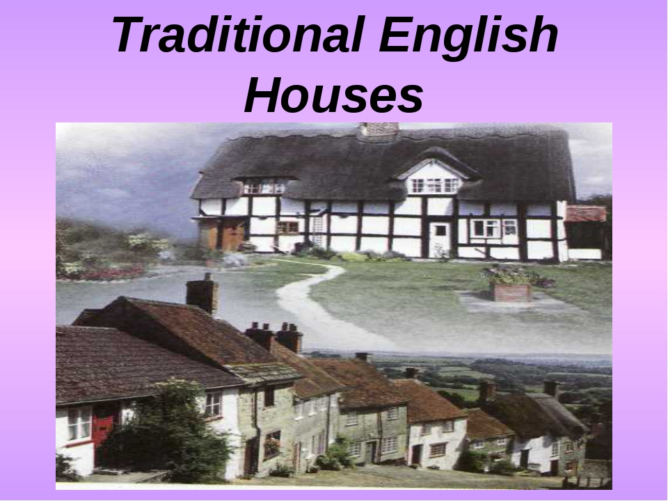Traditional English Houses
