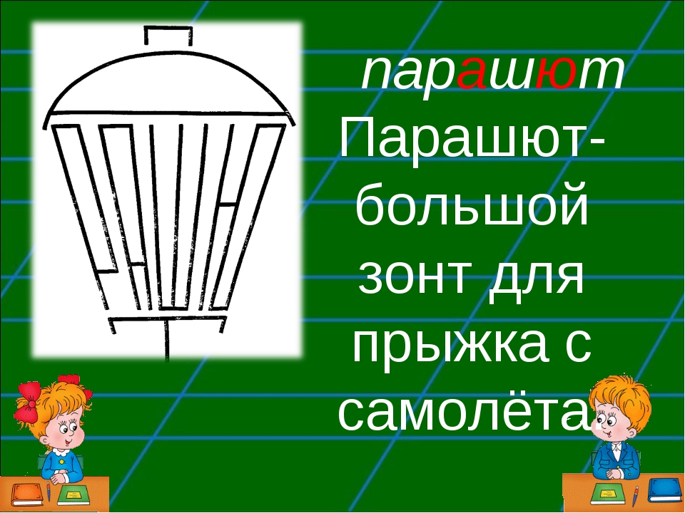 парашют Парашют-большой зонт для прыжка с самолёта.