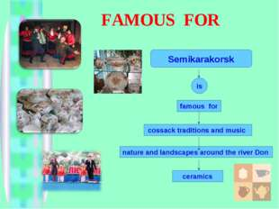 FAMOUS FOR famous for cossack traditions and music nature and landscapes arou