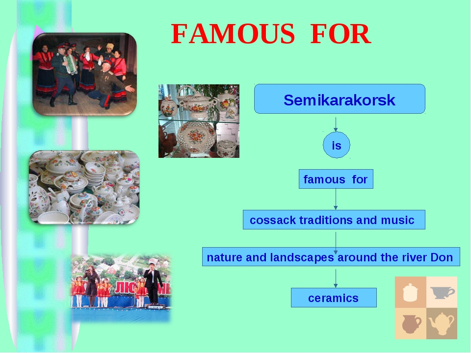 FAMOUS FOR famous for cossack traditions and music nature and landscapes arou...