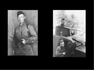 М. Шолохов и А. Фадеев. Западный фронт. 4 сентября 1941 г. Фотографии М. Шоло