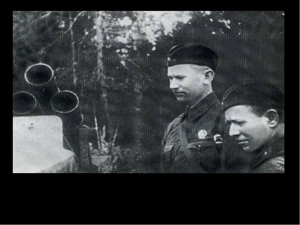 Александр Фадеев и Михаил Шолохов на фронте. Июль 1941