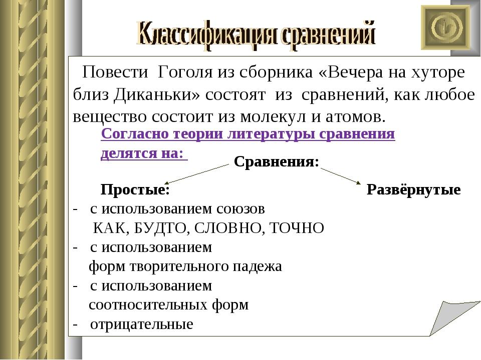 Сравнения: Простые: Развёрнутые - с использованием союзов КАК, БУДТО, СЛОВНО,...