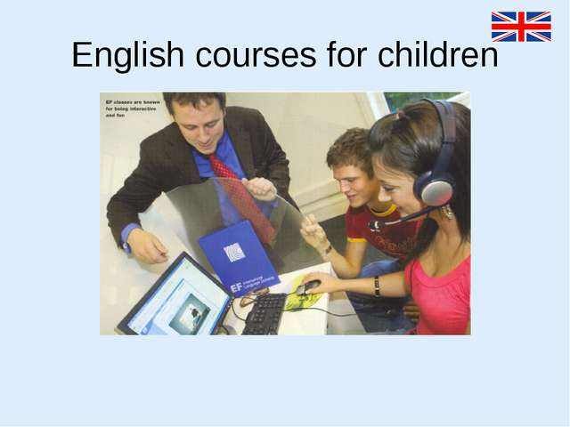 English courses for children