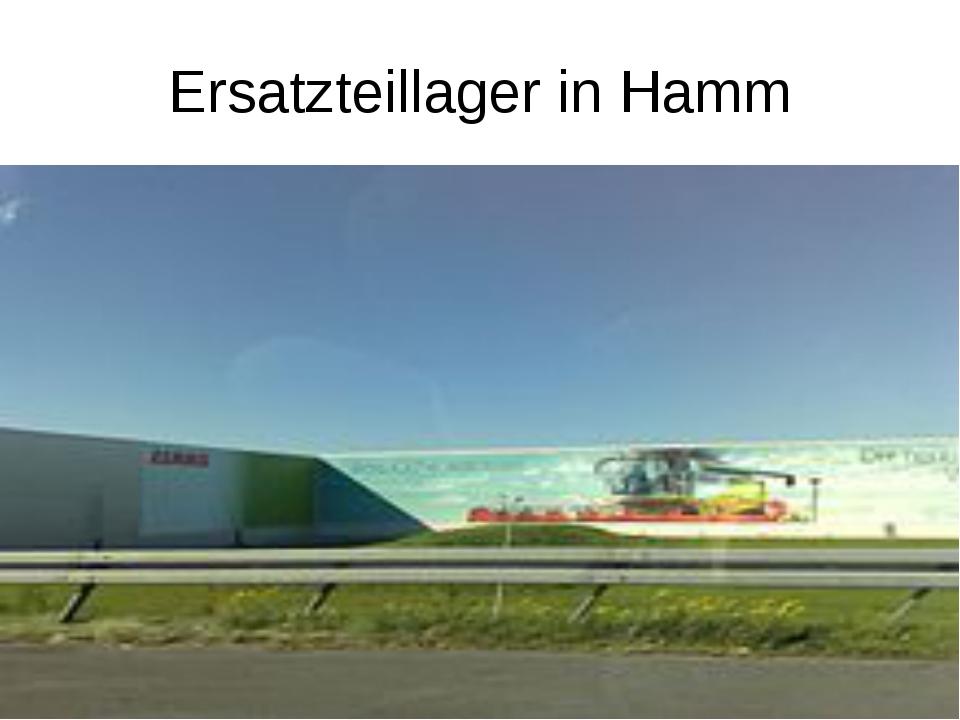 Ersatzteillager in Hamm
