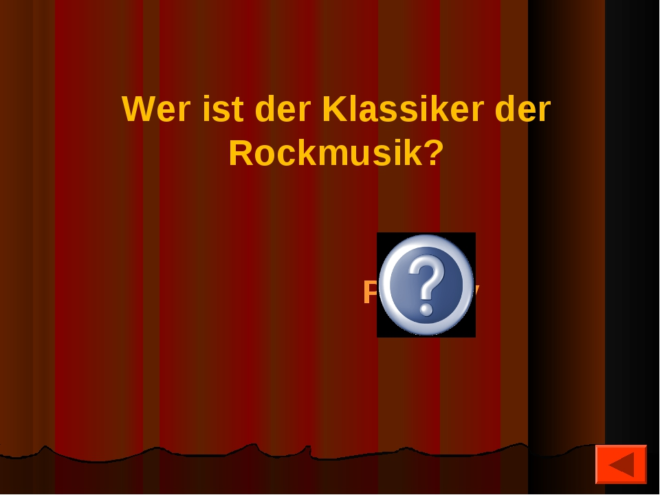 Wer ist der Klassiker der Rockmusik? Elvis Presley
