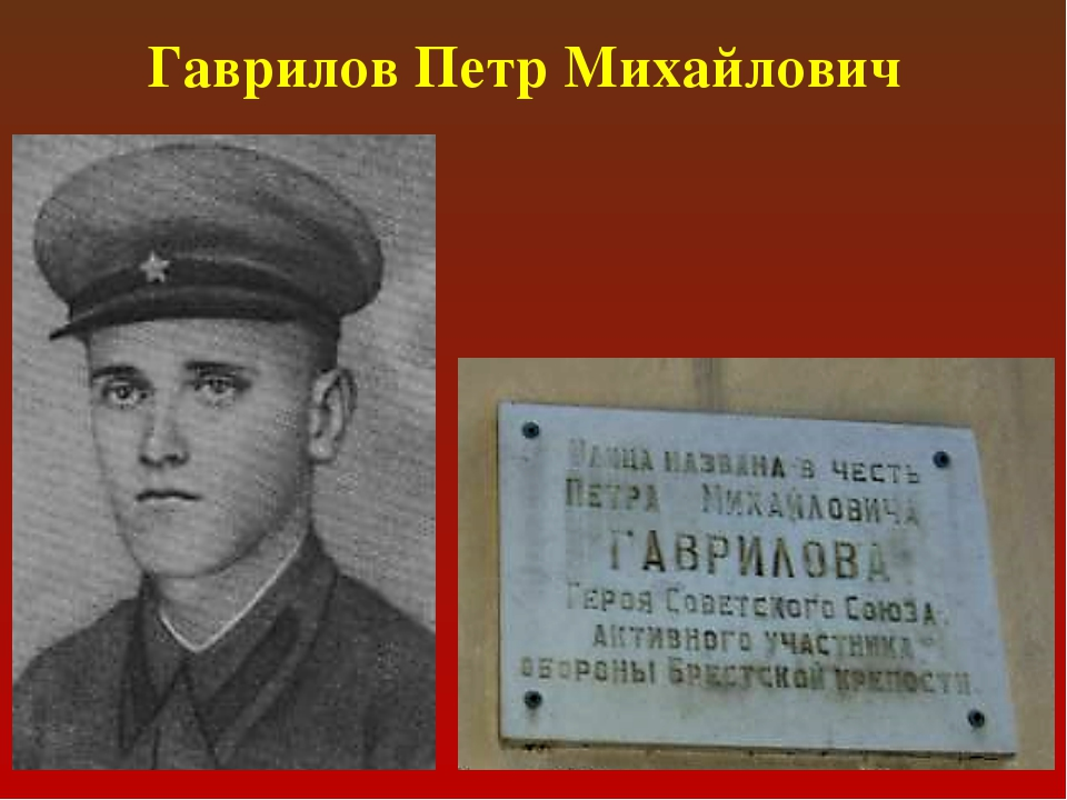 Гаврилов Петр Михайлович
