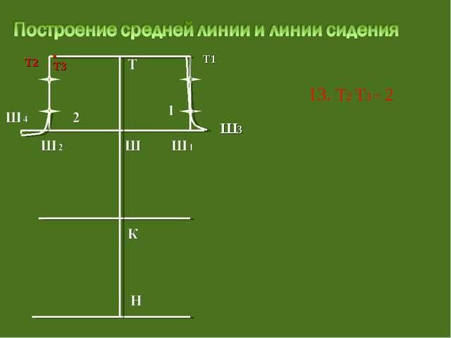 13. Т2 Т3 = 2 Т3 Т1 Ш3 Т2