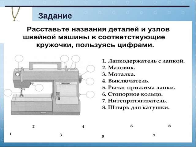 Задание © Автор составитель Григорьева Н.И., учитель