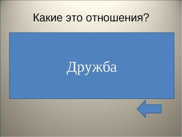 Какие это отношения? Эти отношения особенно ценили древние философы Солон и П...