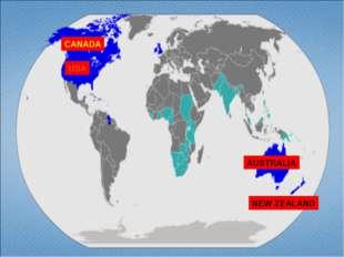 USA CANADA AUSTRALIA NEW ZEALAND