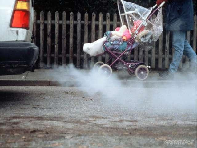 Air pollution Загрязнение воздуха