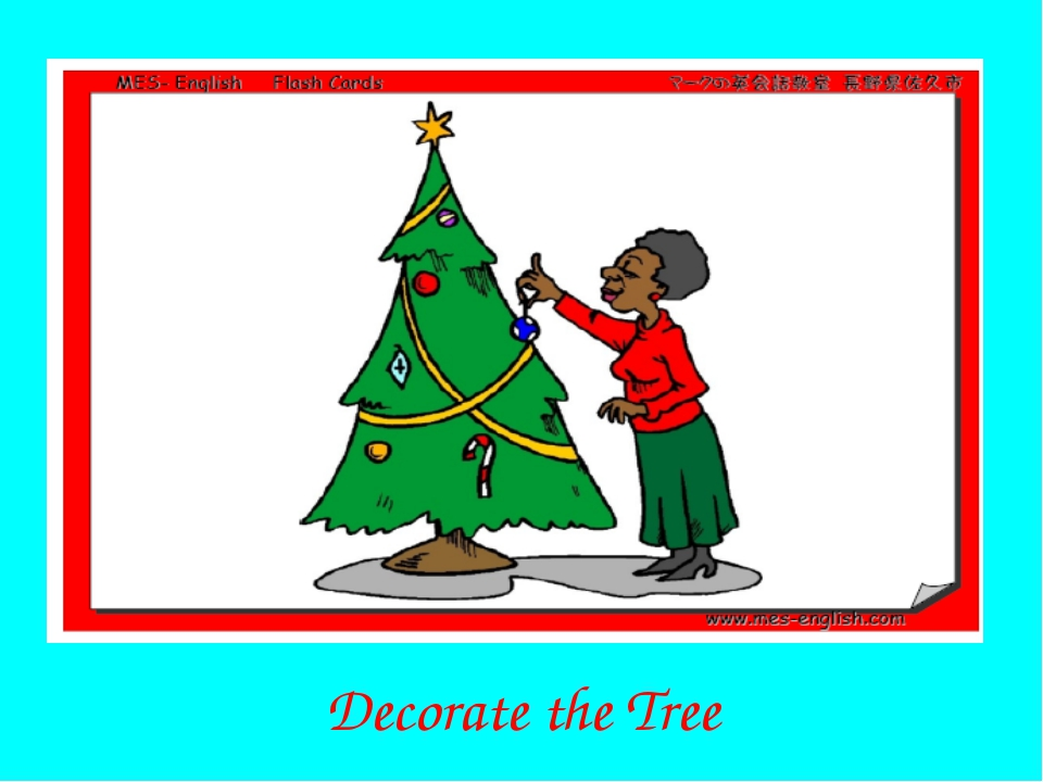 Decorate the Tree