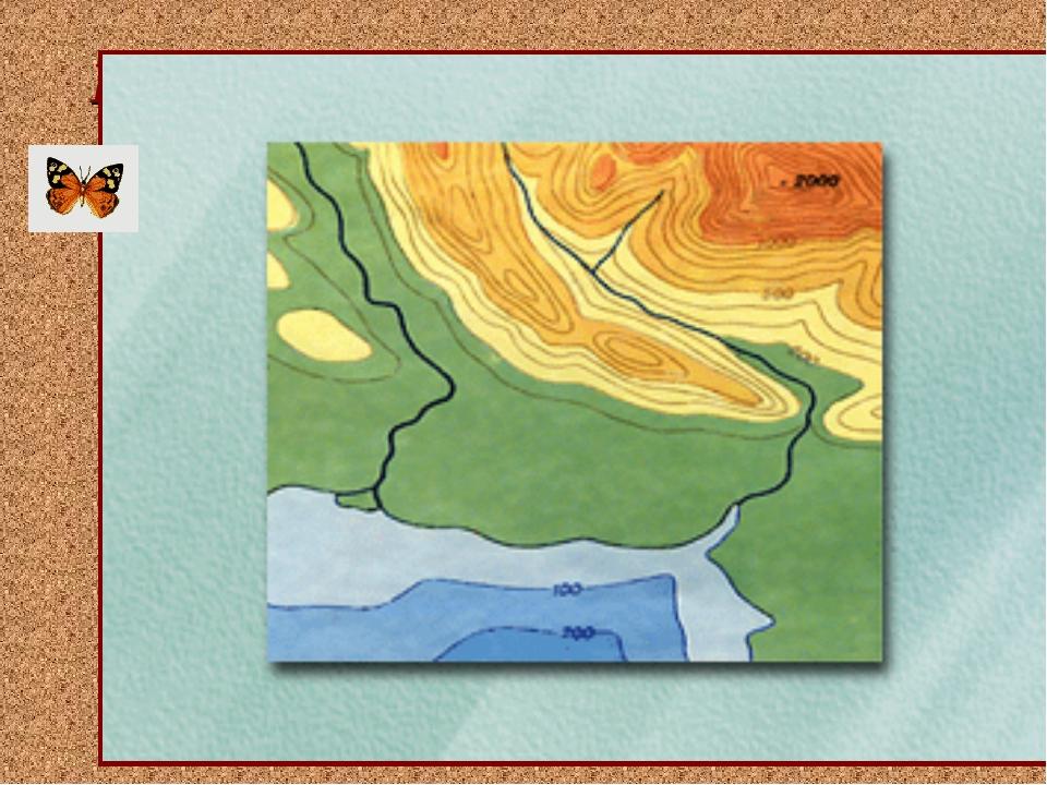 Неровности земной поверхности Как на плоской карте изобразить неровности земн...