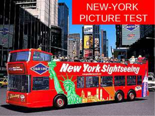 NEW-YORK PICTURE TEST