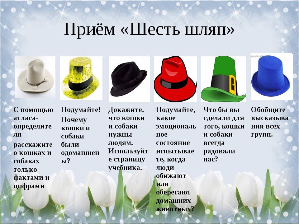 Приём «Шесть шляп»