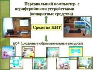 Персональный компьютер с периферийными устройствами (аппаратные средства) Сре