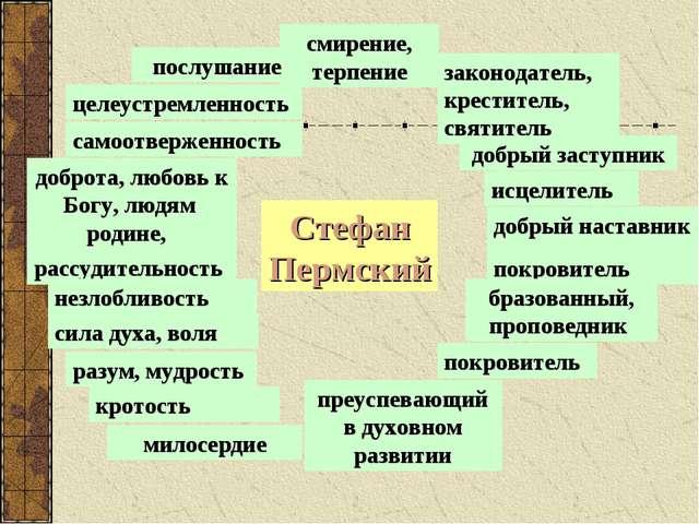Стефан Пермский целеустремленность преуспевающий в духовном развитии добрый н...