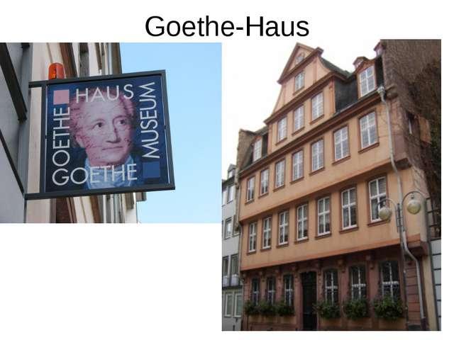 Goethe-Haus