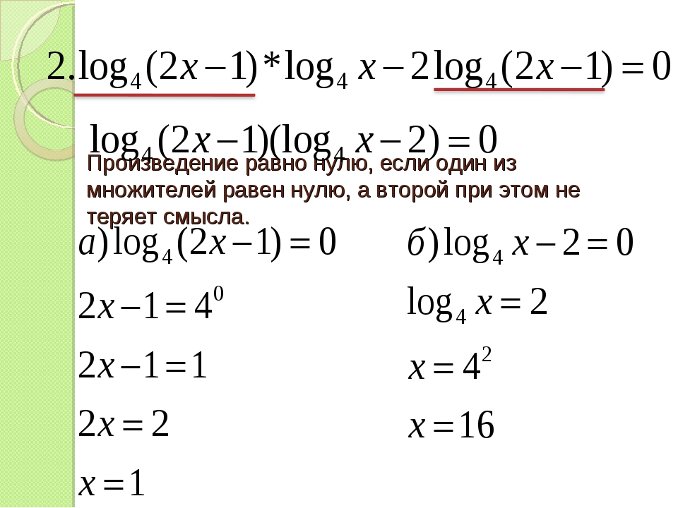 Произведение равно нулю, если один из множителей равен нулю, а второй при это...