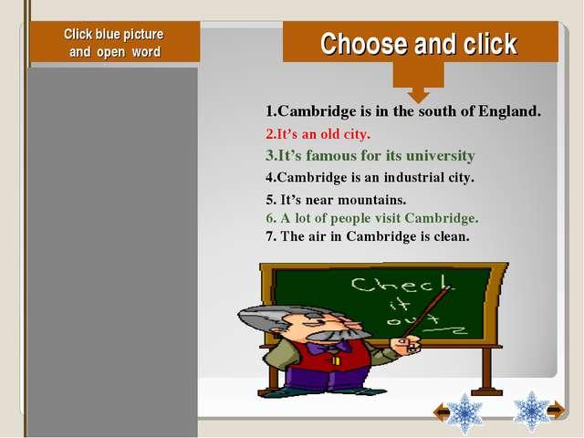 Click blue picture and open word oose and click false true true true false fa...