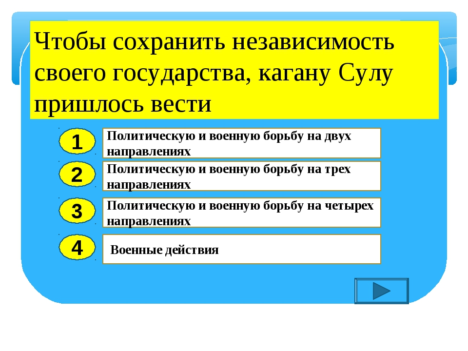 2 3 4 Политическую и военную борьбу на трех направлениях Политическую и военн...