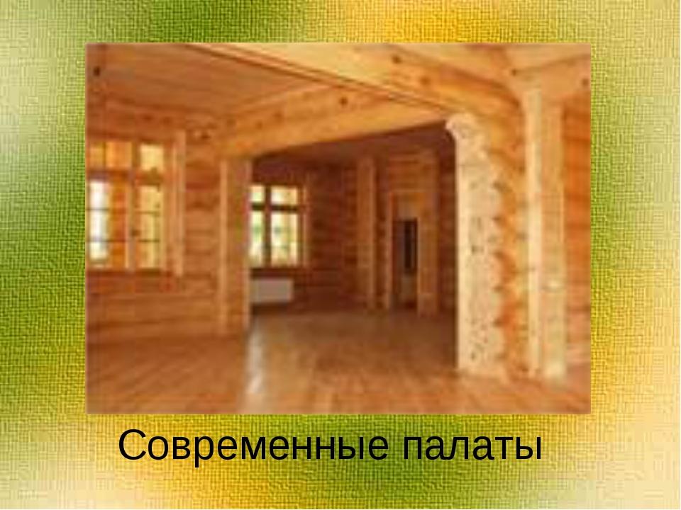 Современные палаты
