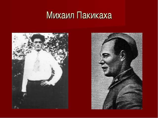 Михаил Пакикаха