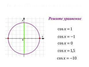 Решите уравнение 1 -1 IV Этап: Объяснение нового материала