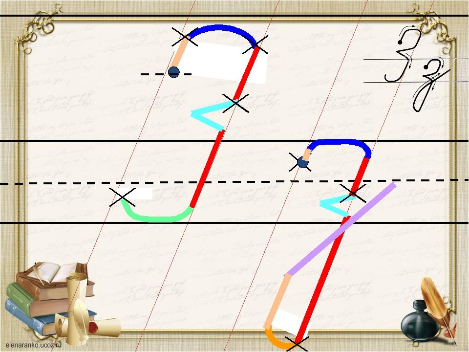 Каждый шаг алгоритма написания буквы запускается кликом мыши. Автор работы:...