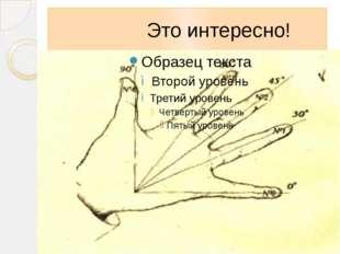 Это интересно! Оказывается, значения синусов и косинусов углов «находятся» н