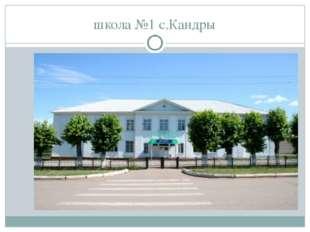 школа №1 с.Кандры
