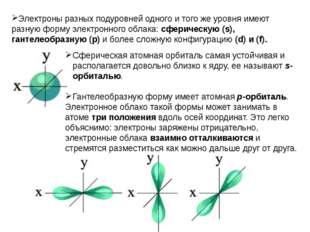 Примеры. 1. Ядро атома водорода имеет заряд +1, поэтому вокруг его ядра движе