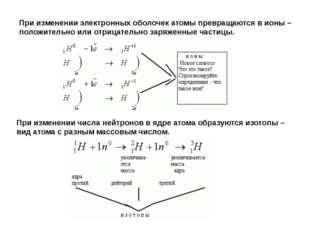 Строение электронных оболочек атомов играет важную роль в химии, так как имен