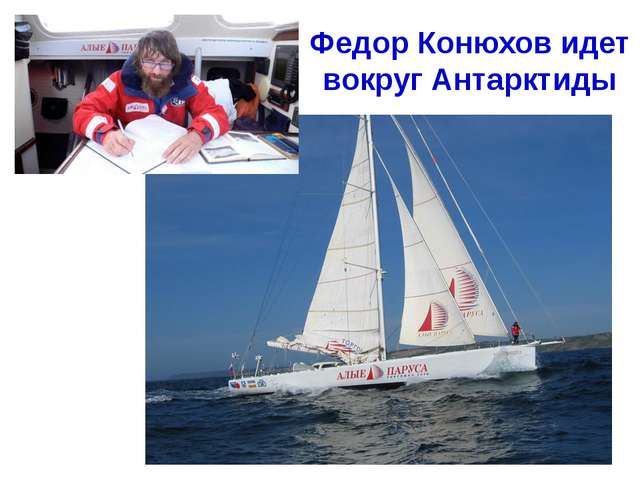 Федор Конюхов идет вокруг Антарктиды Хапилина Е.Л. МОУ СОШ № 24 Кострома