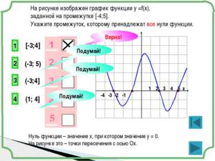 -4 -3 -2 -1 1 2 3 4 5 х На рисунке изображен график функции у =f(x), заданно