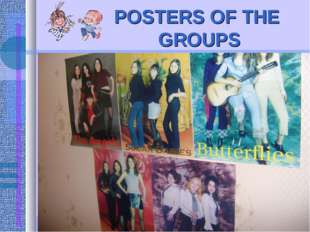 POSTERS OF THE GROUPS