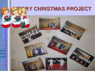 MERRY CHRISTMAS PROJECT