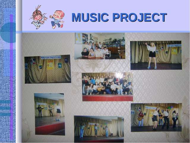 MUSIC PROJECT