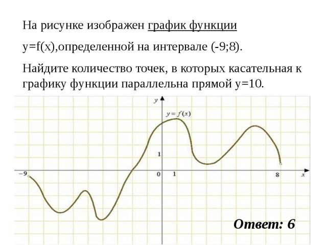 На рисунке изображен график функции y=f(x),определенной на интервале (-9;8)....