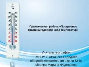 Задание №6. Определите среднегодовую температуру воздуха своего города. Средн