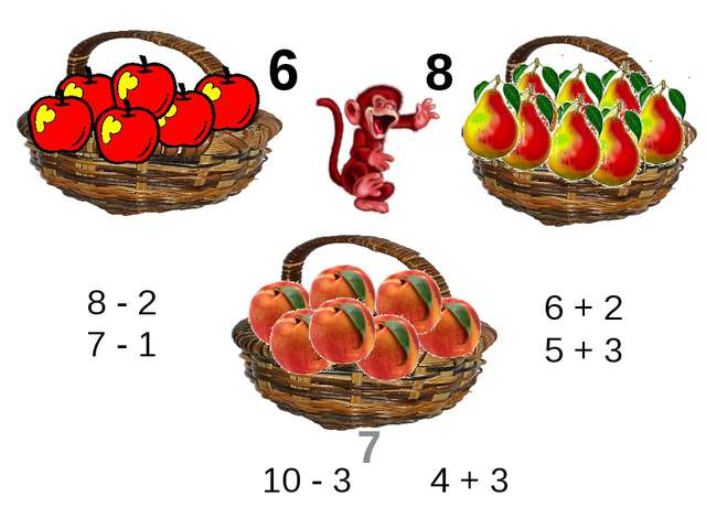 8 - 2 7 - 1 6 + 2 5 + 3 10 - 3 4 + 3 6 8 7