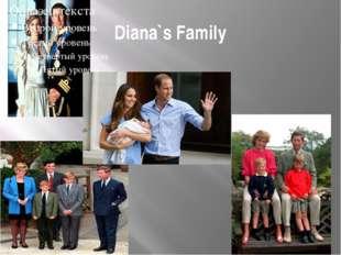 Diana`s Family